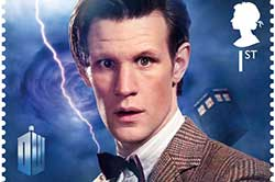 Dr. Who postage stamp
