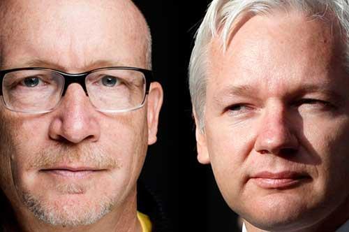 Gibney and Assange