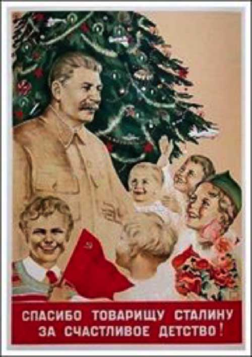 Image result for stalin christmas