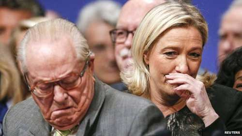 Le Pen, father and daughter