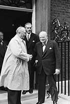 Adenauer and Churchill