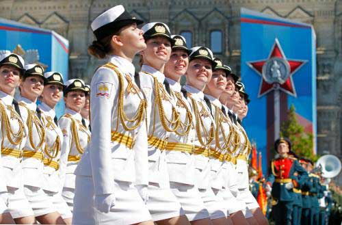 Russian miliary parade