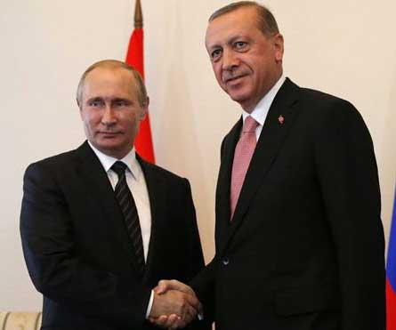 Putin and Erdoğan