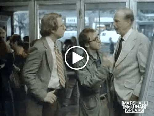 McLuhan in Annie Hall